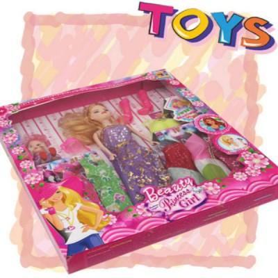 Barbie Doll Set  - Violet