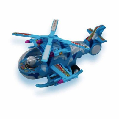 Musical Helicopter - Blue