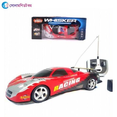 Whisker crazy racing  radio remote control rechargeable car