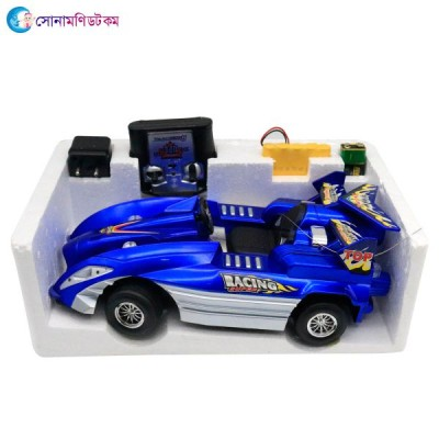 Rapidly crazy racing 4 channel remote control rechargeable car