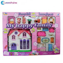 FUNNY DOLL HOUSE PLAY SET