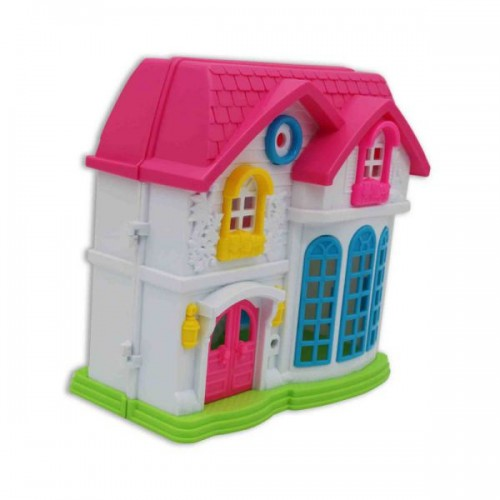 Family Doll House & Furniture Set
