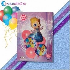 Birthday Fans Party Decoration- 6 piece
