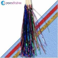 Foil Paper Birthdays Party Hanging Garland- 12 piece