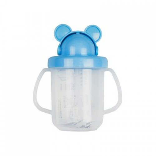 Straw Sipper Cup - Blue