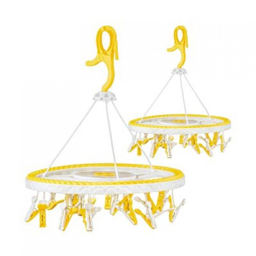 Baby Clothes Hanger - Yellow