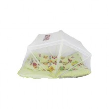 Baby bedding with mosquito net set  - Yellow