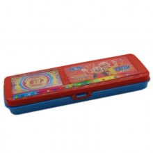 Pencil Box With Mini Game – Red