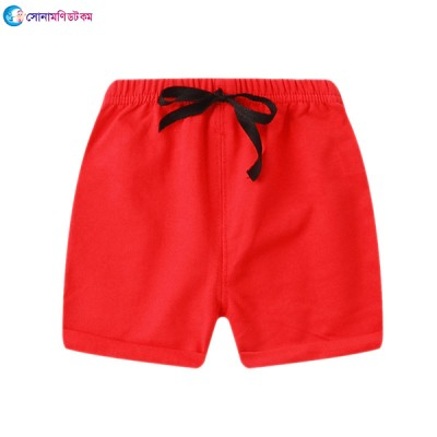 Boys' Lace-up Shorts - Red
