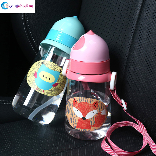 Baby Straw Drinking Cup 350 ml - Pink   Sippers & Cups   FEEDING & NURSERY at Sonamoni.com