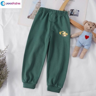 Baby Casual Pants - Green Color