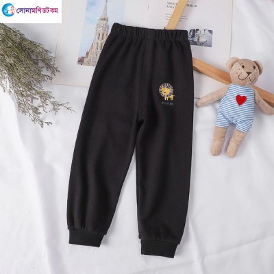 Baby Casual Pants - Black Color