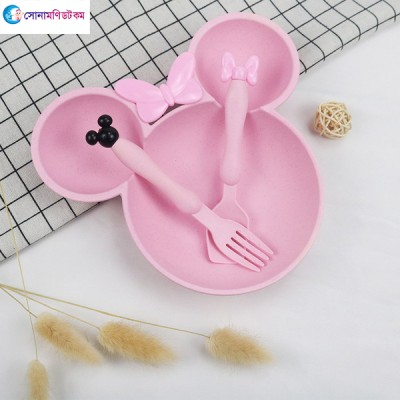 Section Plate - Pink