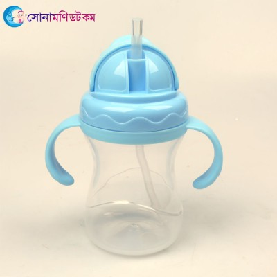 Straw Sipper Cup- Blue