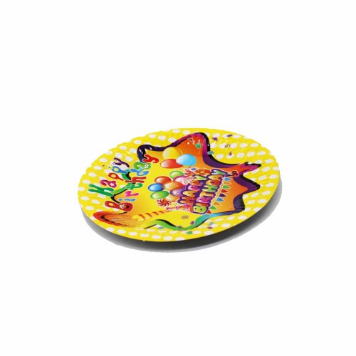 Disposable Plate Set - Yellow