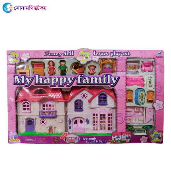 Happy Family Doll House- Large