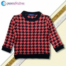 Kids Sweater– Black and  Red