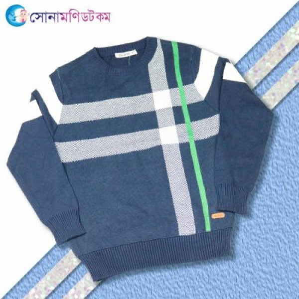 Baby Sweater - Navy Blue | Sweater | Winter Collection at Sonamoni.com