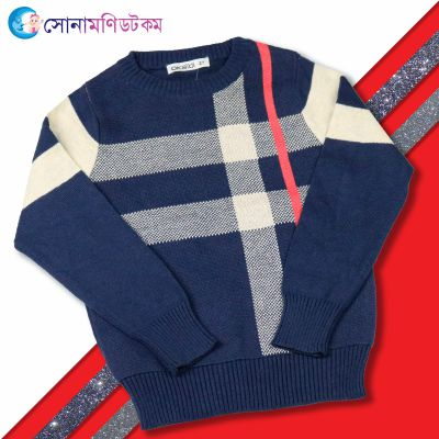Baby Sweater-Nevy Blue