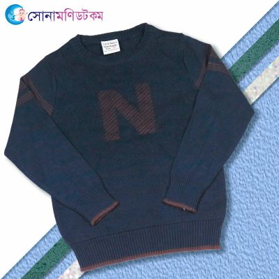 Baby Sweater--Nevy Blue