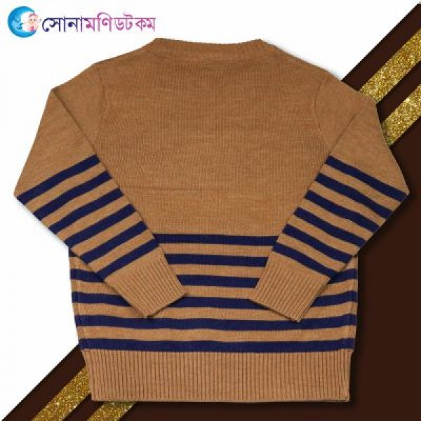 Baby Sweater-Brown Color | Winter Collection | BOY FASHION at Sonamoni.com