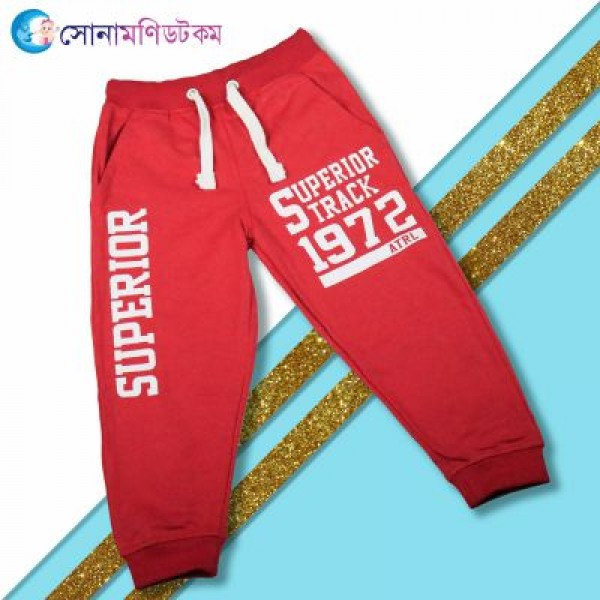 Baby Trouser - Red   Winter Collection   BOY FASHION at Sonamoni.com