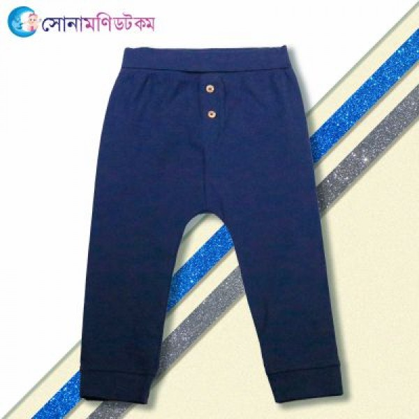 Baby Trouser- Navy Blue | Trouser and Joggers | Winter Collection at Sonamoni.com