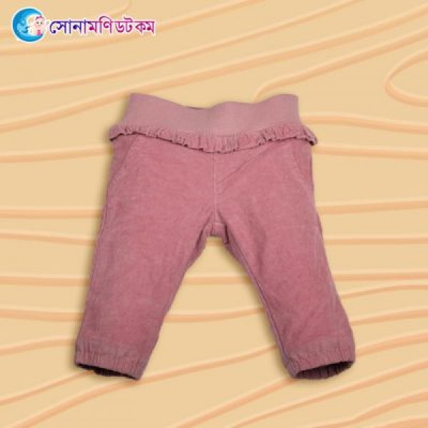Girl Trouser- Light Pink | Trouser and Joggers | Winter Collection at Sonamoni.com