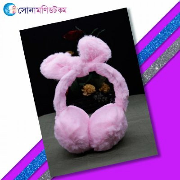 Baby Ear Muffs-Pink   Caps, Gloves & Others   Winter Collection at Sonamoni.com