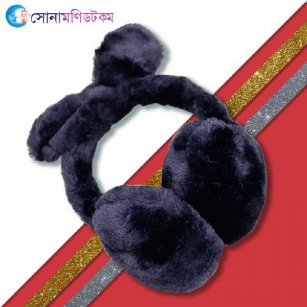 Baby Ear Muffs-Black   Caps, Gloves & Others   Winter Collection at Sonamoni.com