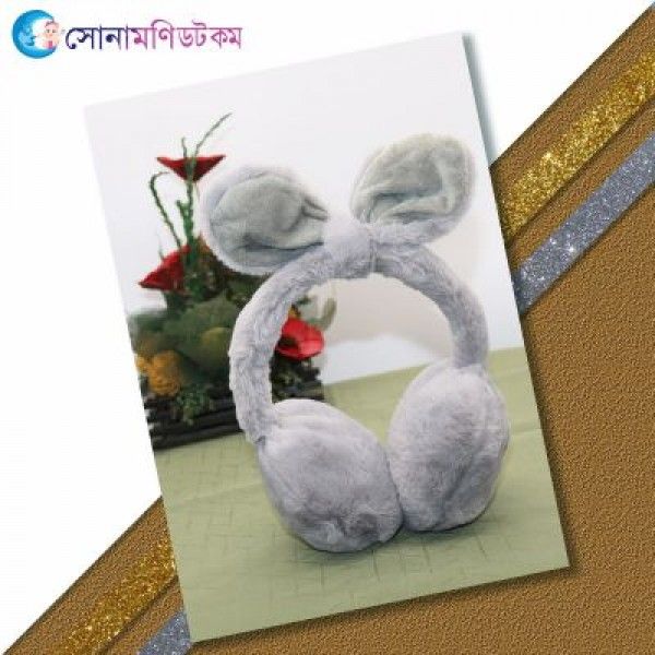 Baby Ear Muffs-Gray   Caps, Gloves & Others   Winter Collection at Sonamoni.com