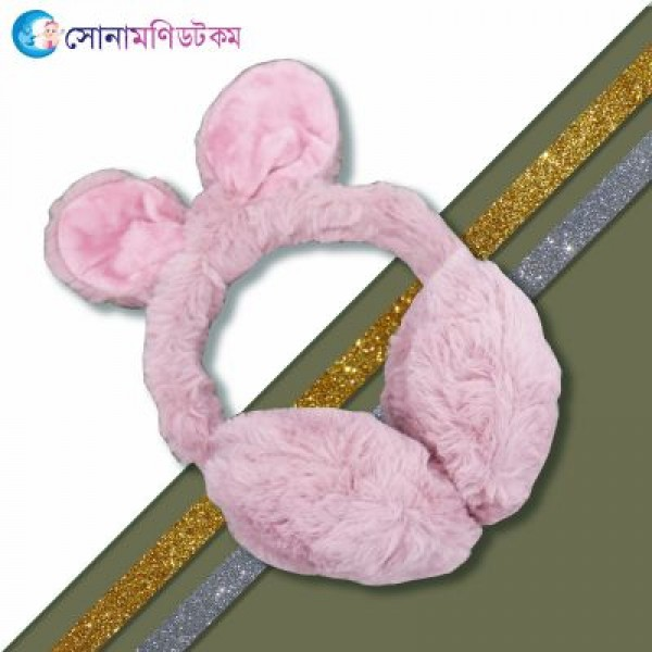 Baby Ear Muffs- Rosy Brown | Caps, Gloves & Others | Winter Collection at Sonamoni.com